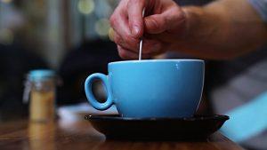 stirring your tea