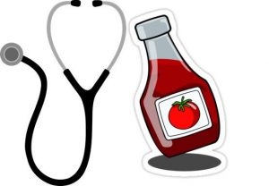 Ketchup as medicine