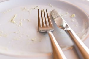 finishing your plate off
