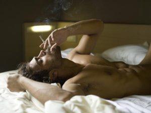 'AFTER SEX' SMOKING
