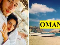 priyanka- nick honeymooning in oman