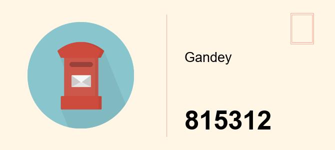 gandey-pincode