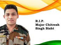 Army Major Chitresh Singh Bisht