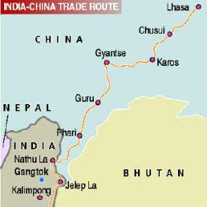 India- China Trade Route