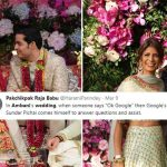 Akash Ambani - Shloka Mehta's extravagent wedding memes