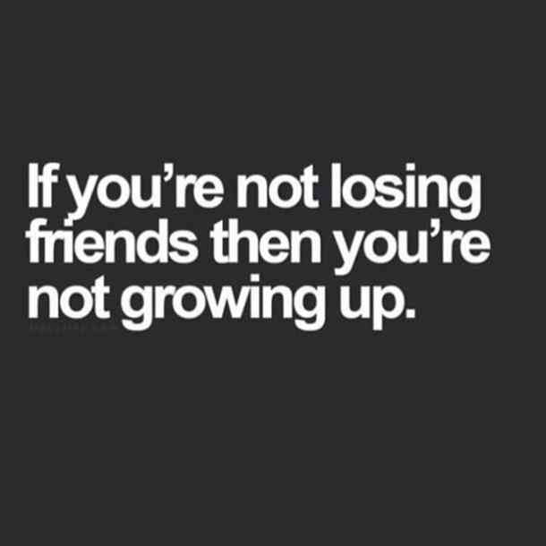 dealing with lost friends