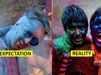 holi expectation vs reality