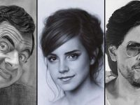 sketches of famous personalities which are miraculously life-like