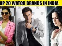 top 20 watch brands in india