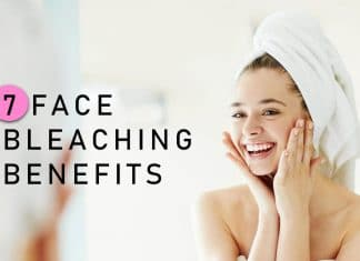 face bleaching benefits