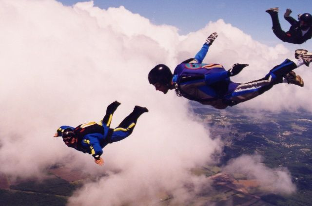 Skydiving-single sail-at-Mysore