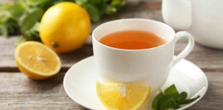 benefits of lemon tea