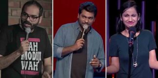 stand up comedians in India