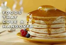 foods that cure a hangover