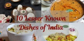 lesser known dishes of India