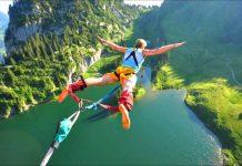 highest bungee jump