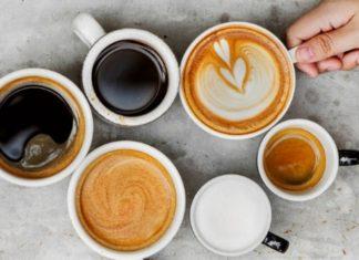 dirty chai tea with coffee